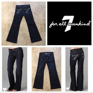 7 FAM Dojo Flip Flop Flare Jeans